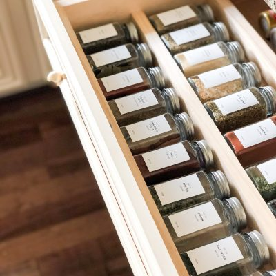 SPRICE DRAWER + MY FAVORITE LABELS