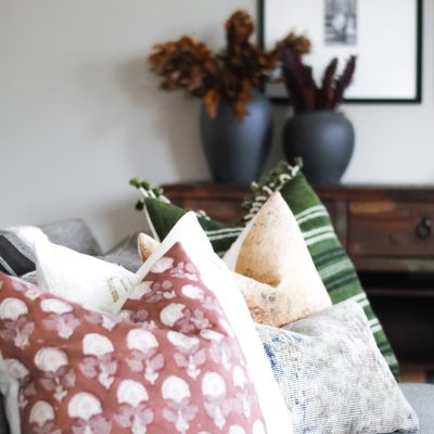 PILLOW COMBINATIONS + MY FAVORITE FALL PILLOWS